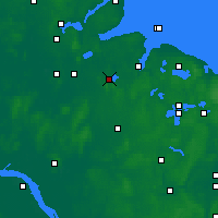 Nearby Forecast Locations - Westensee - Carte