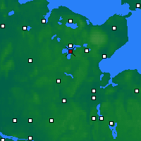 Nearby Forecast Locations - Großer Plöner See - Carte