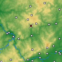 Nearby Forecast Locations - Wiesensee - Carte
