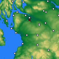 Nearby Forecast Locations - Paisley - Carte