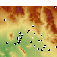 Nearby Forecast Locations - Phoenix Deer V. - Carte