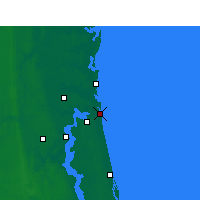 Nearby Forecast Locations - Naval Station Mayport - Carte