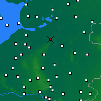 Nearby Forecast Locations - Zwolle - Carte