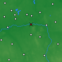 Nearby Forecast Locations - Konin - Carte