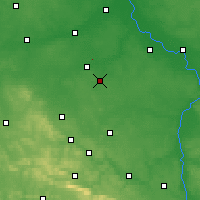 Nearby Forecast Locations - Radom - Carte