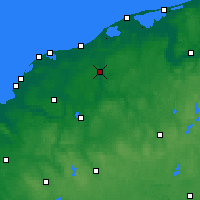 Nearby Forecast Locations - Słupsk - Carte