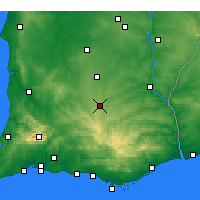 Nearby Forecast Locations - Almodôvar - Carte