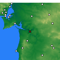 Nearby Forecast Locations - Alcácer do Sal - Carte
