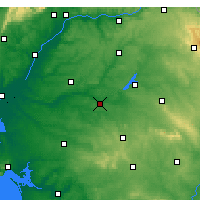 Nearby Forecast Locations - Mora - Carte