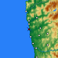 Nearby Forecast Locations - Esposende - Carte