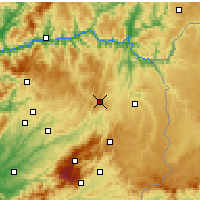 Nearby Forecast Locations - Trancoso - Carte