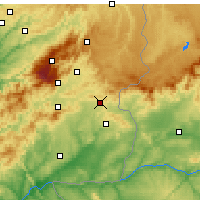Nearby Forecast Locations - Penamacor - Carte
