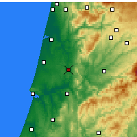 Nearby Forecast Locations - Mealhada - Carte