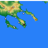Nearby Forecast Locations - Sikea - Carte