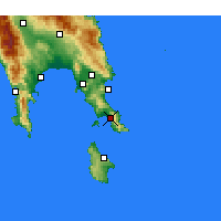 Nearby Forecast Locations - Neapoli - Carte