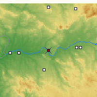 Nearby Forecast Locations - Mérida - Carte