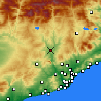 Nearby Forecast Locations - Manresa - Carte