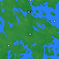 Nearby Forecast Locations - Varkaus - Carte