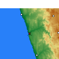Nearby Forecast Locations - Kleinzee - Carte