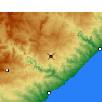 Nearby Forecast Locations - Butterworth - Carte