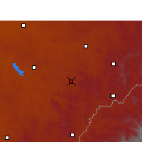 Nearby Forecast Locations - Marquard - Carte