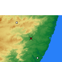 Nearby Forecast Locations - Palmares - Carte