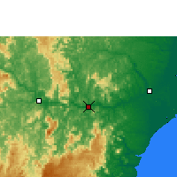 Nearby Forecast Locations - Colatina - Carte