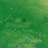 Nearby Forecast Locations - Laon - Carte
