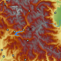 Nearby Forecast Locations - Risoul - Carte