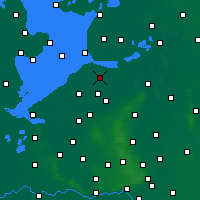Nearby Forecast Locations - Dronten - Carte