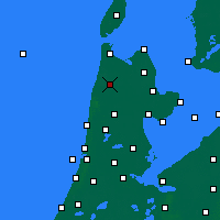 Nearby Forecast Locations - Schagen - Carte