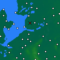 Nearby Forecast Locations - Emmeloord - Carte