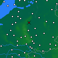 Nearby Forecast Locations - Epe - Carte