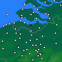 Nearby Forecast Locations - Terneuzen - Carte