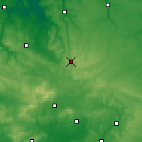 Nearby Forecast Locations - Gacé - Carte