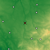 Nearby Forecast Locations - L'Isle-Jourdain - Carte