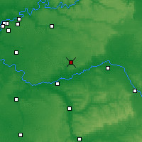 Nearby Forecast Locations - Provins - Carte
