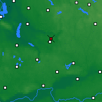 Nearby Forecast Locations - Sułowo - Carte