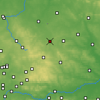 Nearby Forecast Locations - Obiechów - Carte