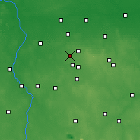 Nearby Forecast Locations - Aleksandrów Łódzki - Carte