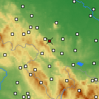 Nearby Forecast Locations - Bielawa - Carte