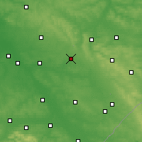 Nearby Forecast Locations - Biłgoraj - Carte
