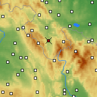 Nearby Forecast Locations - Bystrzyca Kłodzka - Carte