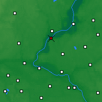 Nearby Forecast Locations - Chełmno - Carte