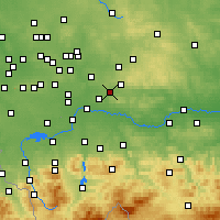 Nearby Forecast Locations - Chrzanów - Carte