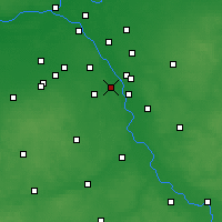 Nearby Forecast Locations - Konstancin-Jeziorna - Carte