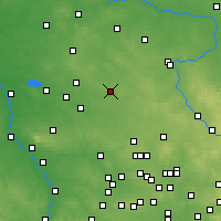 Nearby Forecast Locations - Lubliniec - Carte