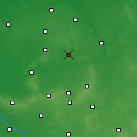 Nearby Forecast Locations - Ostrów Wielkopolski - Carte