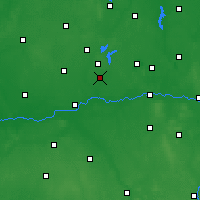Nearby Forecast Locations - Słupca - Carte