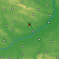 Nearby Forecast Locations - Staszów - Carte